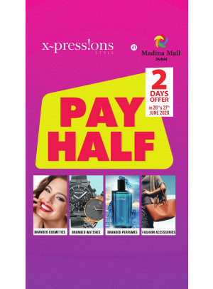 Pay Half Offer - Madina Mall, Dubai