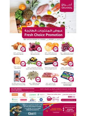 Fresh Choice Promotion