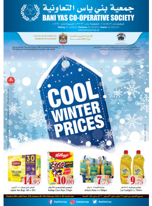 Cool Winter Prices