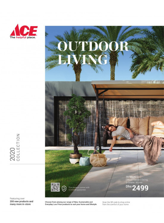 Outdoor Living 2020 from ACE until 30th June - ACE Offers ... on Ace Outdoor Living id=92810
