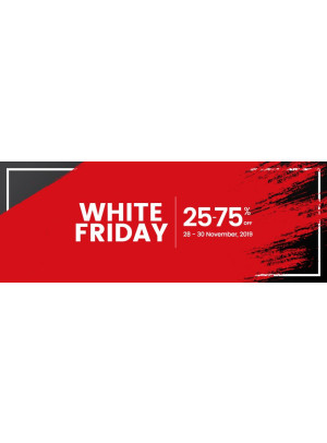 White Friday Sale - 25 To 75% Off