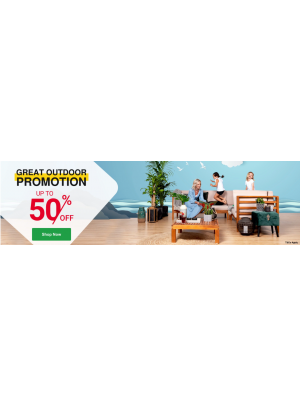 Great Outdoor Deals - Up To 50% Off