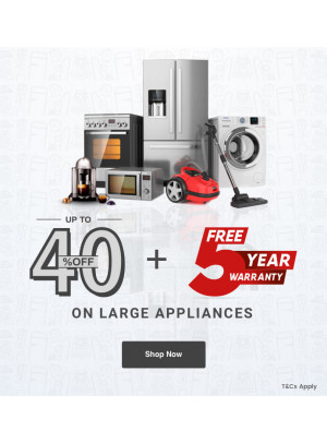 Up To 40% Off on Large Appliances