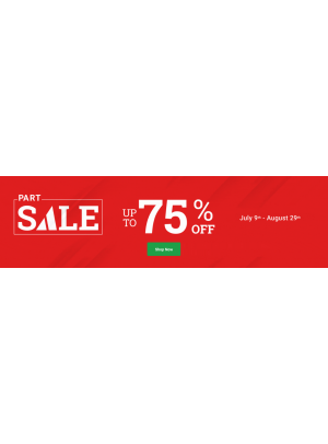 Part Sale - Up To 75% Off
