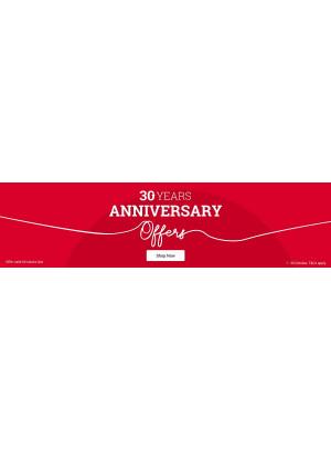 30th Anniversary Offers - Dubai