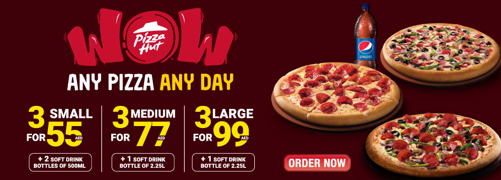 Wow Triples And Pepsi Offer From Pizza Hut Until 3rd June Pizza Hut Offers Promotions