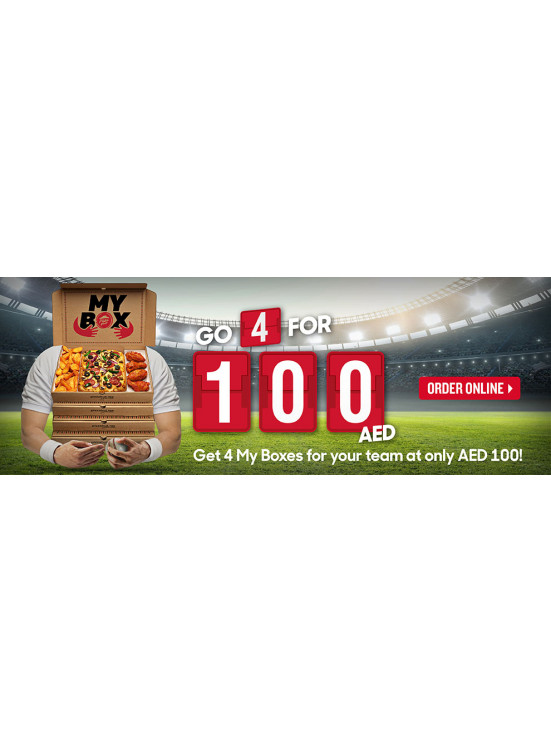 Go 4 My Box for 100 AED Only