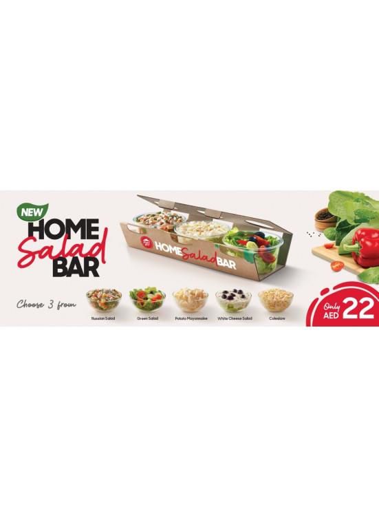 Home Salad Bar