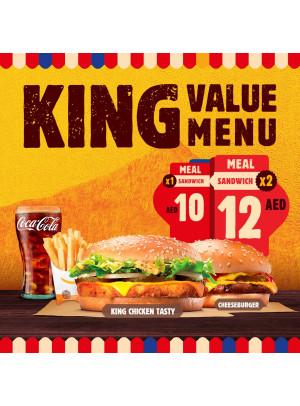 King Value Menu