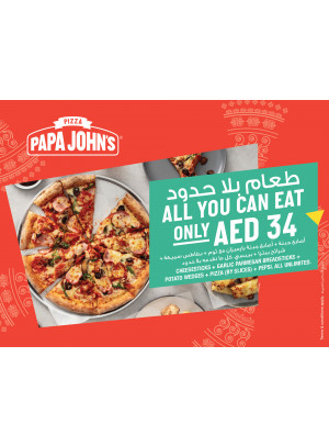 All You Can Eat ONLY AED 34
