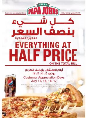 Everything at Half Price