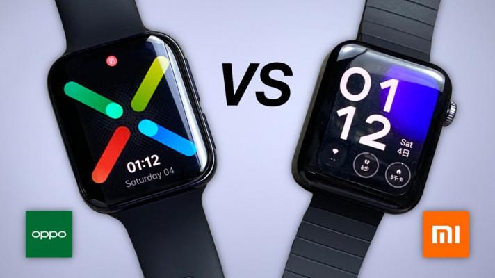 OPPO Watch vs Xiaomi Mi Watch Revolve: Contrast of Specifications